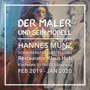 Hannes Münz - der Maler und sein Modell